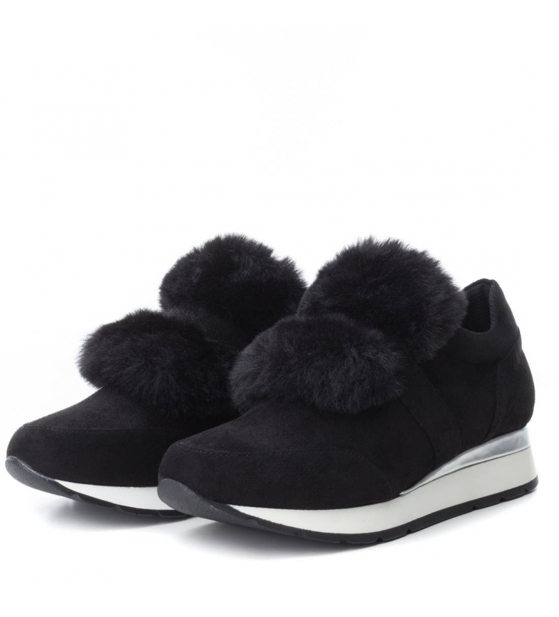 Xti Cuña 3cm 3cm negro 3cm Zapatillas Zapatillas Cuña Cuña Xti negro Zapatillas Xti negro qUprFUA