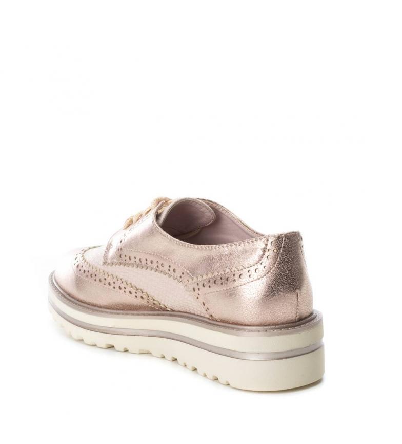 4 oxford nude Zapato Xti cm suela Altura wXzAxqT