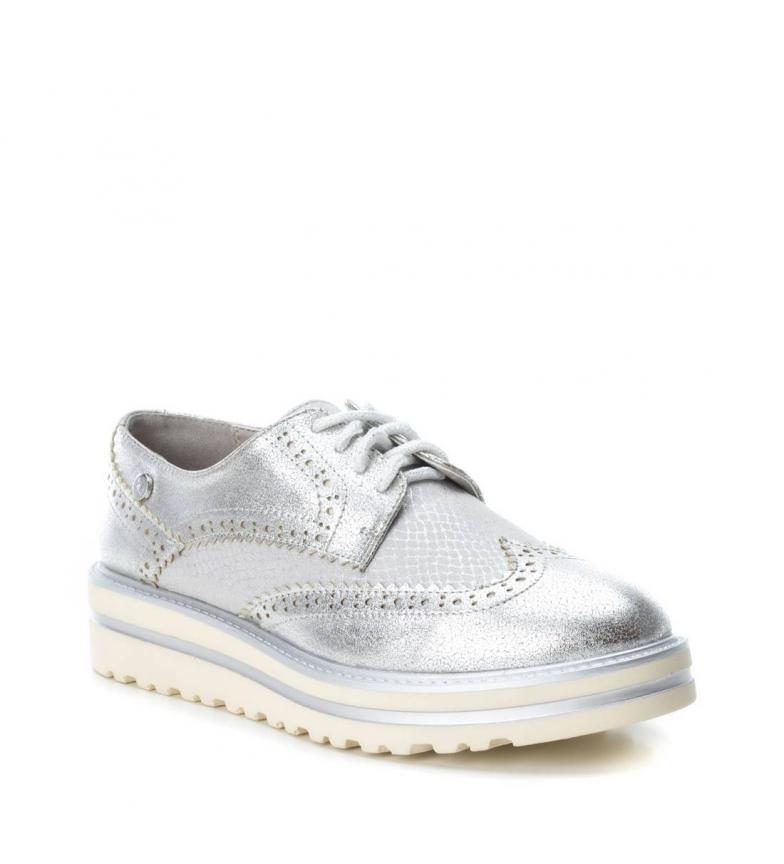 4 Xti plata Altura oxford Xti cm suela Zapato Zapato wqRxSBq4U