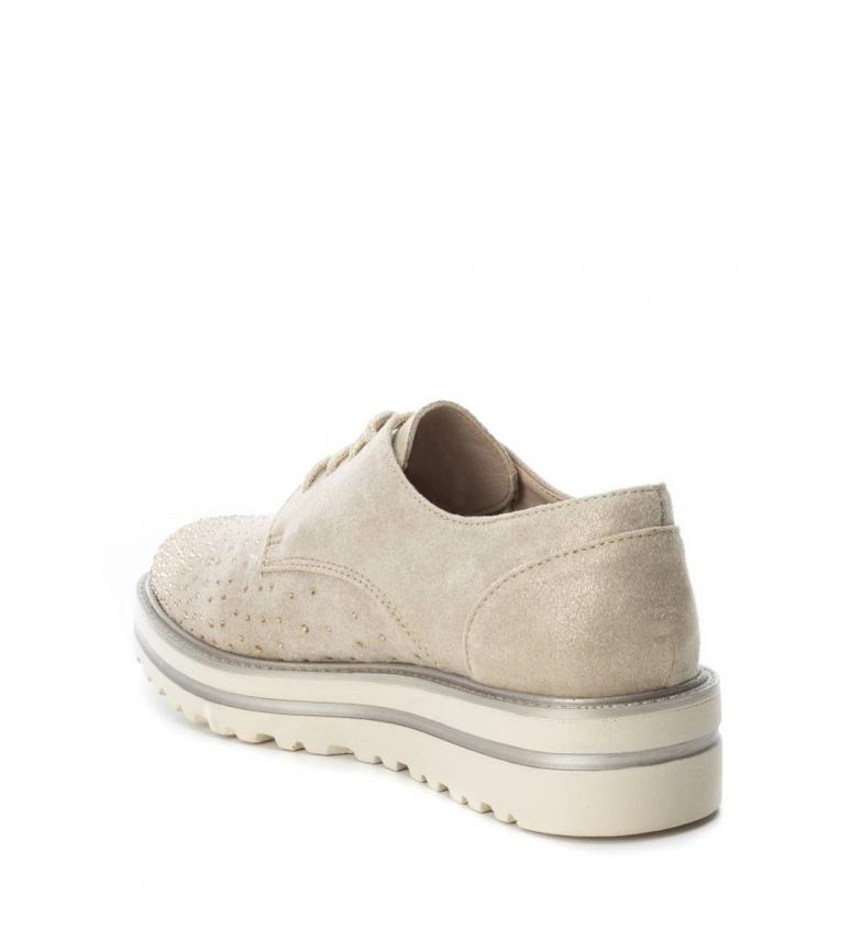 suela oxford cm Zapato Altura 4 beige Xti xIaA4a