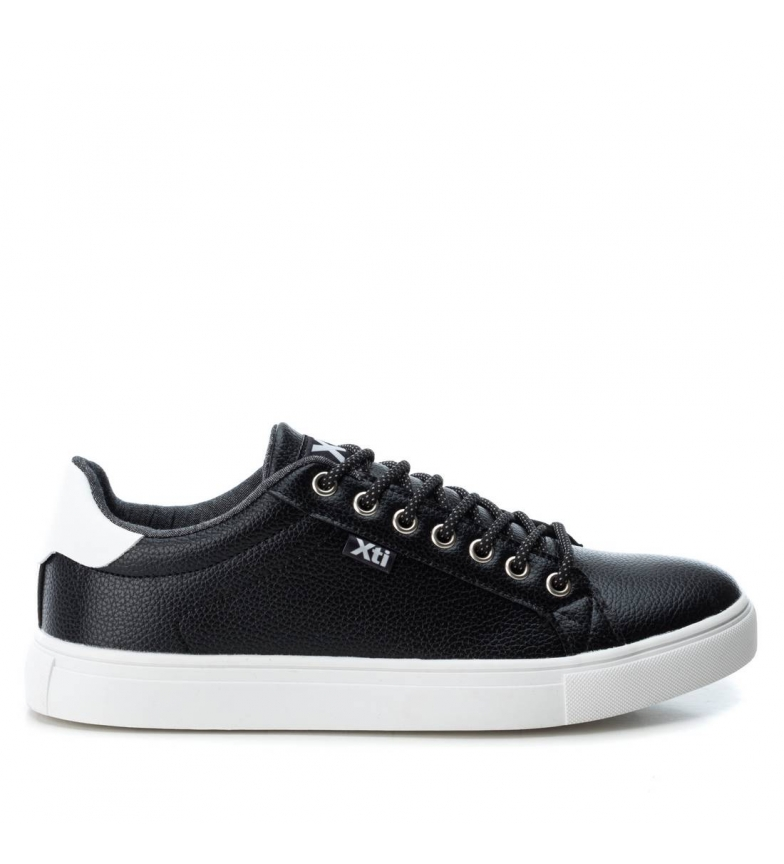 Plano Xti Xti Zapato Xti Zapato Plano 048709 048709 Plano Negro Negro Zapato exCBdWro