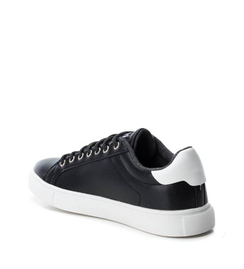 Xti Plano 048709 Xti Zapato Negro Plano Zapato OkXZiulPwT