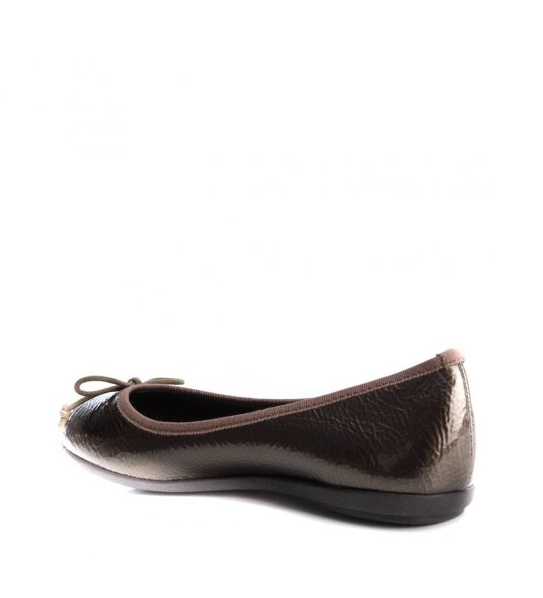 Xti Chaussure Aucun Casuel Plate Femme Ballerina 033936 Synthétique Bronze wwqBCHr