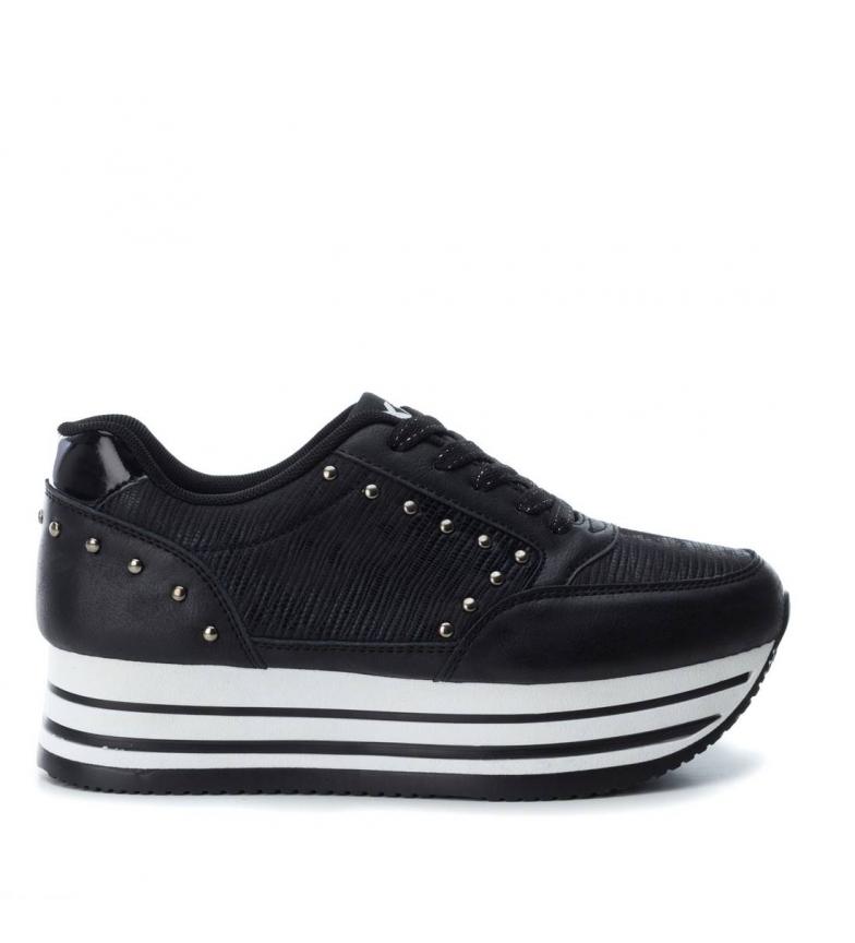 negro 048105 Xti plano Zapato deportivo a FwwqzR1v