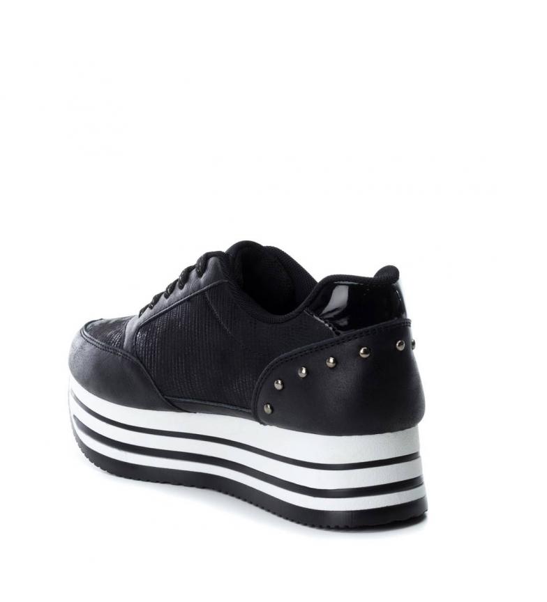 plano Xti Zapato negro deportivo a 048105 1q05qwgr