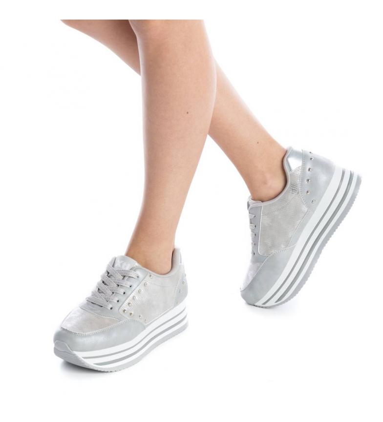 048105 deportivo Zapato a plano plata Xti xqPfRE4wI