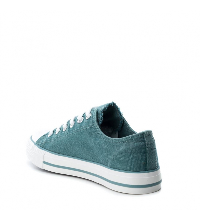 Rose Gris Aqua Plate Vert Chaussure Autre Casuel Tissu 033825 Xti Lacets Femme PanAqvw5I