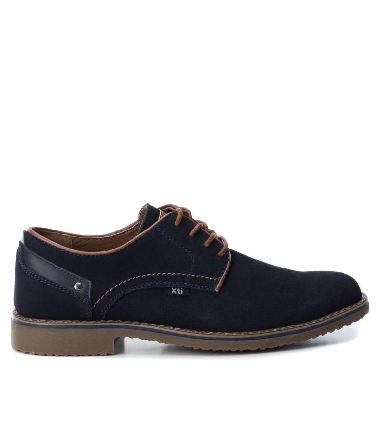 Comprar Xti Chaussure en cuir  048212 marine