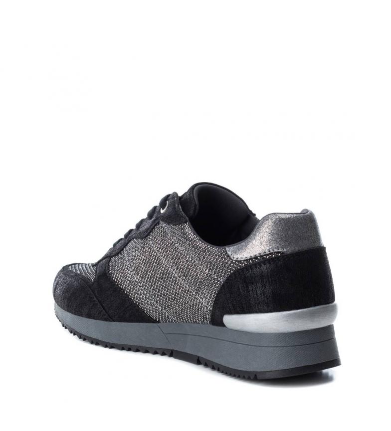 Xti Lacets À Gris Plat 048625neg Casuel Noir 3 Cm Femme Chaussures 1 vnSxrHqvw