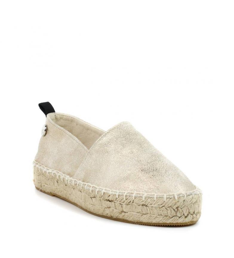 Zapato yute oro 046946 plano Xti 0RvSv
