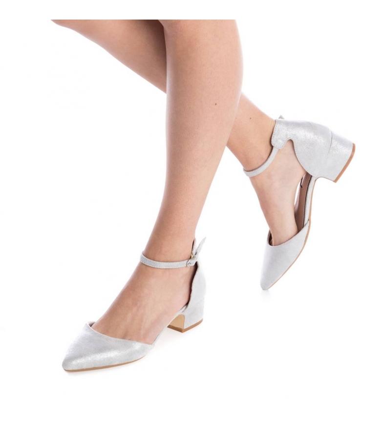 Xti Zapato plata Altura tacón: 4cm