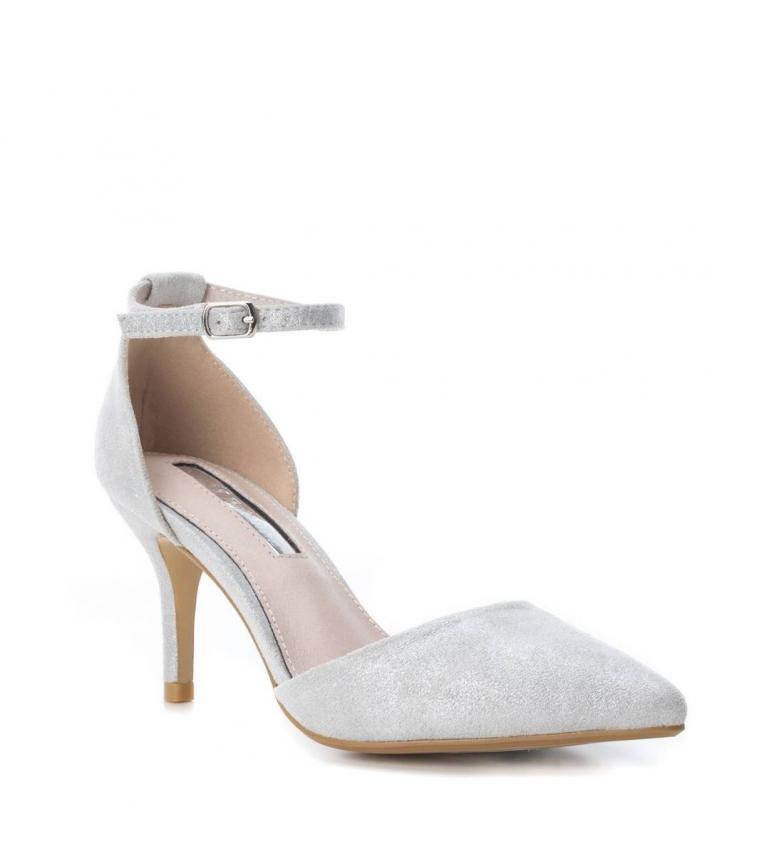 tacón Xti Altura plata Zapato 8cm Xti plata Zapato gqAOAYw