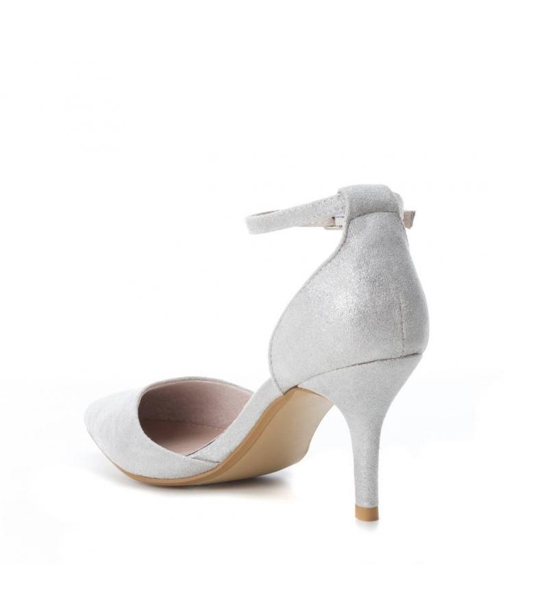 Xti Zapato Altura Xti Zapato tacón plata 8cm FFx6STrw