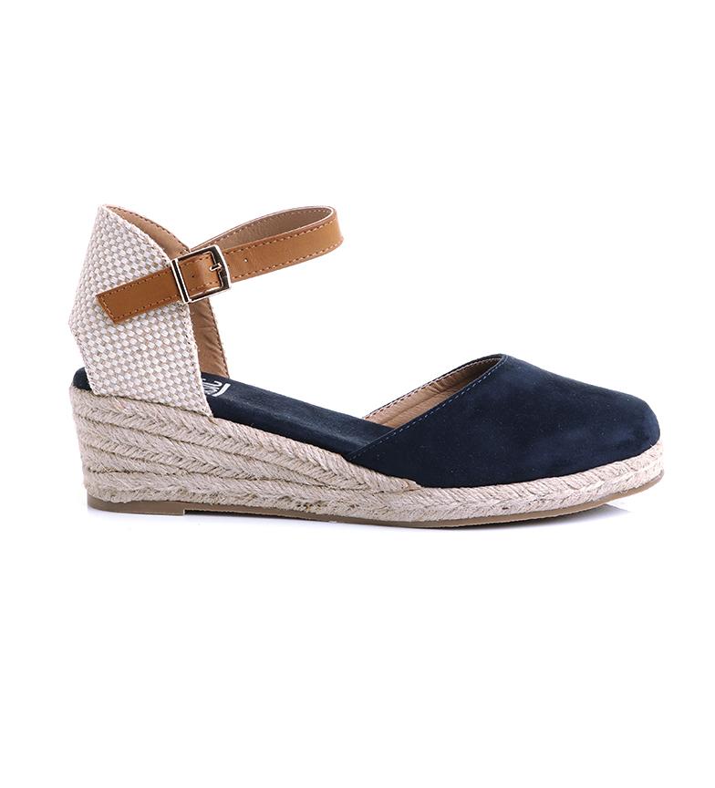 Comprar Xti Sandals 35715 navy -Heel height: 5 cm