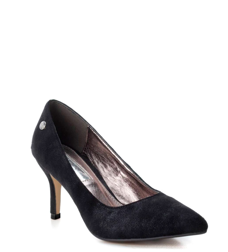Xti Zapato stiletto negro Altura tacón: 7cm