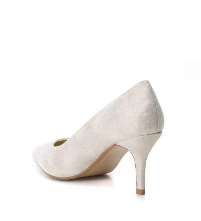 Xti Xti oro Zapato 7cm stiletto tacón Zapato Altura UUW4f6q
