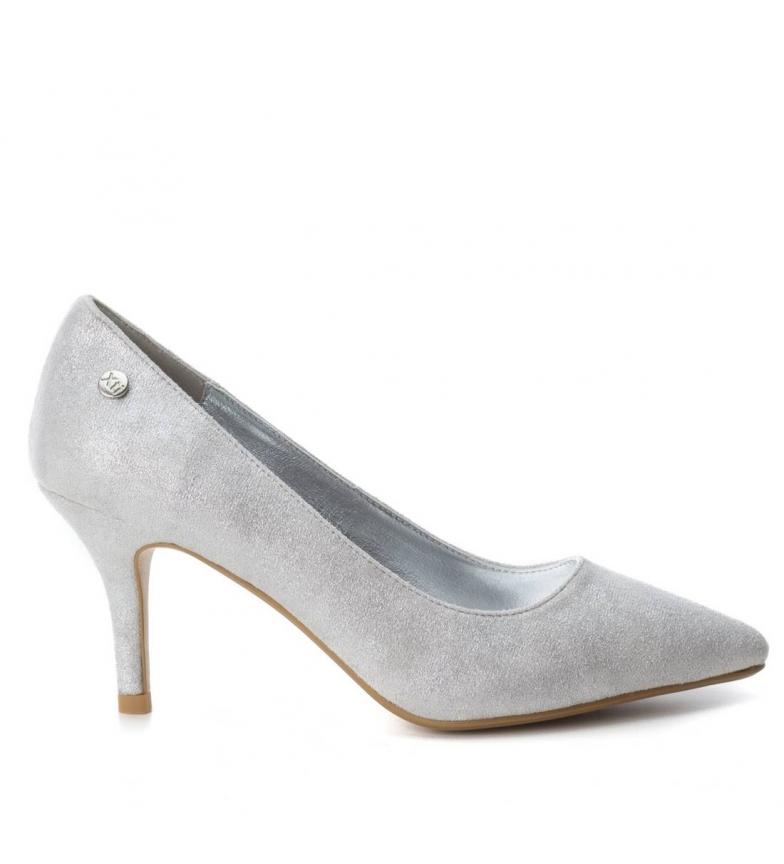 Zapato stiletto Altura Xti 7cm plata tacón Pxd0fPqw