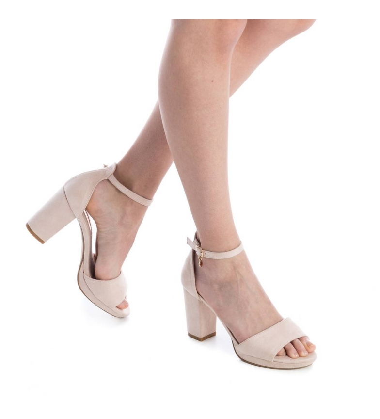 Xti tacón Altura 030686 Zapato 9cm tacón nude rqFrfwHURx