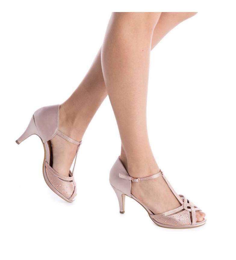 Xti Zapato tacón 030701 nude Altura tacón: 9cm