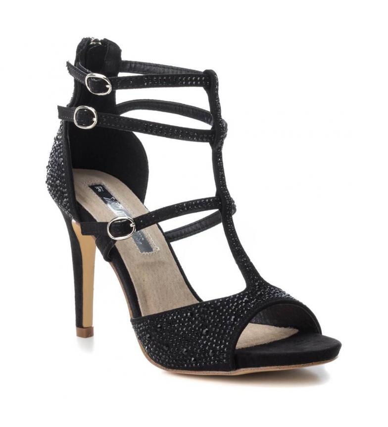 Altura Xti Zapato Xti negro tacón 10cm Zapato 030730 tacón tacón 0BRwq11