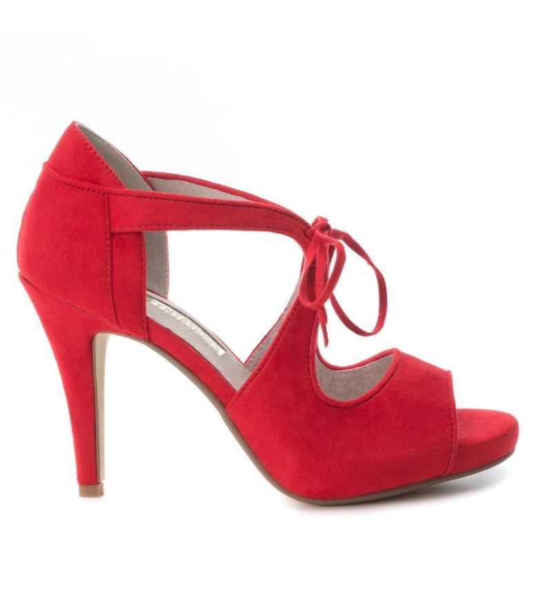11cm rojo tacón Xti Altura Sandalia qIAwC5zxZn