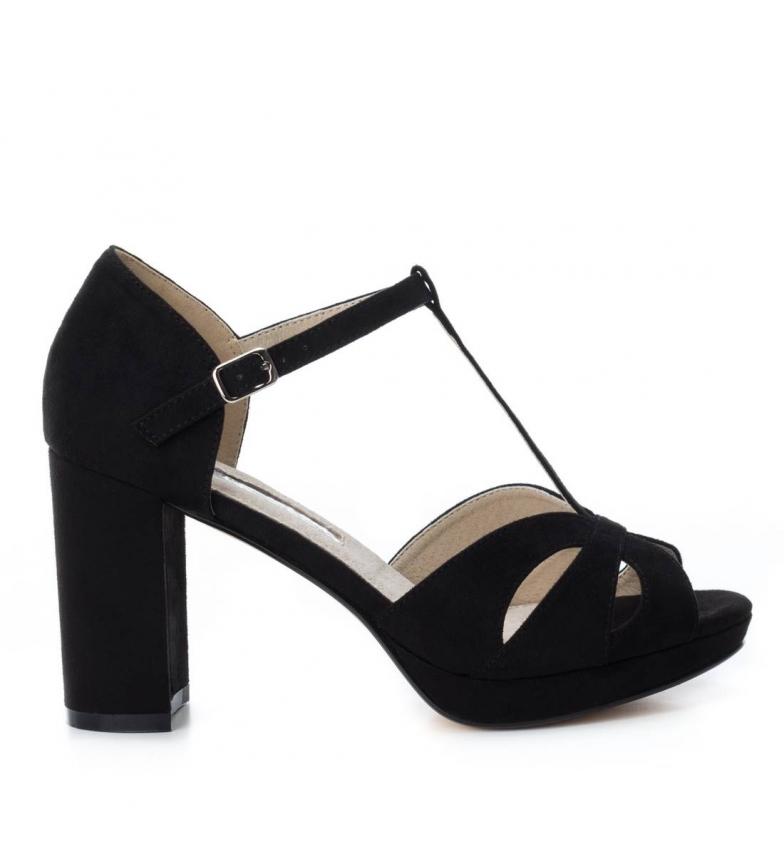 Altura negro Xti 030743 Zapato tacón tacón 9cm z1SqFSIf