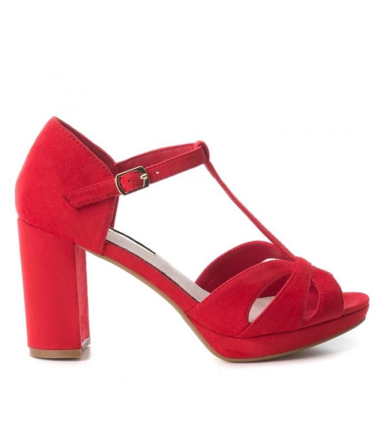 rojo tacón 030743 tacón 9cm Zapato Xti Altura w4OTPqnt
