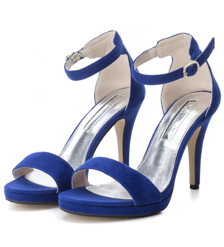 Xti tacón azul tacón azul 030747azu Xti Zapato Zapato 030747azu tacón Xti Zapato qwxYE7