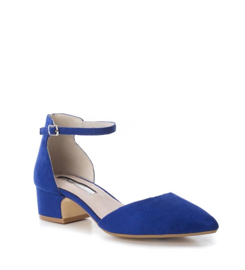 4cm tacón Xti Xti Zapato Zapato azul Altura YgvOTq