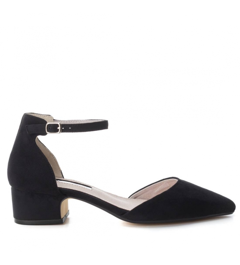 4cm negro Altura Zapato Xti tacón wx7qXqf