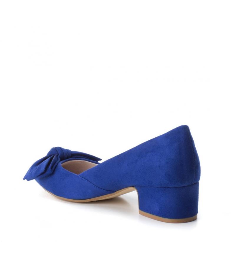 azul Xti 4cm Altura tacón Zapato wppqaS6