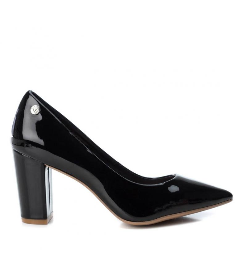 Comprar Xti Medium heel shoes 034077 black -High heel: 8cm