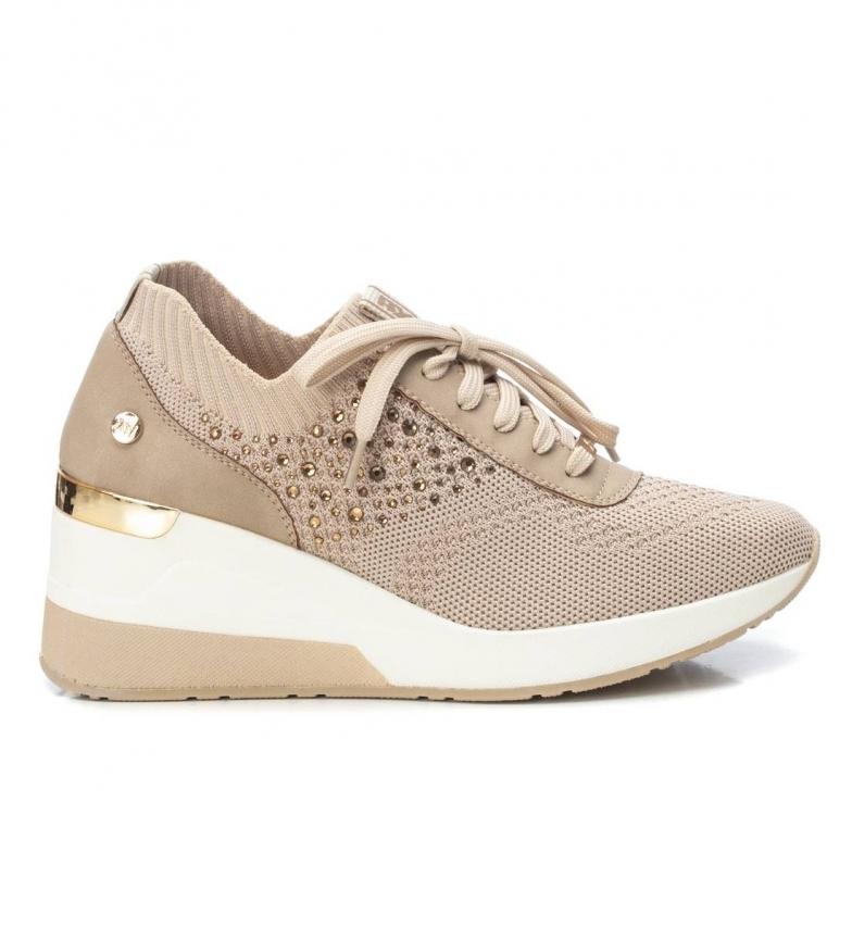 Comprar Xti Sneakers 042593 beige -Height wedge: 6 cm