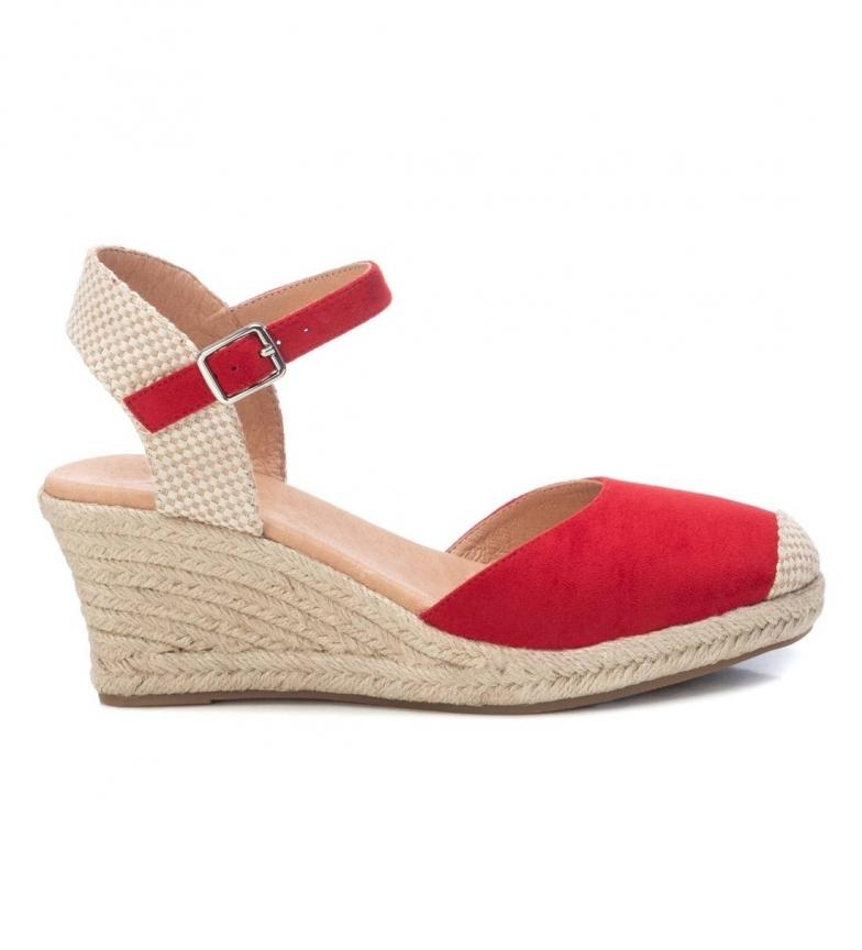 Comprar Xti Sandali 042834 rosso -Altezza zeppa: 7cm-