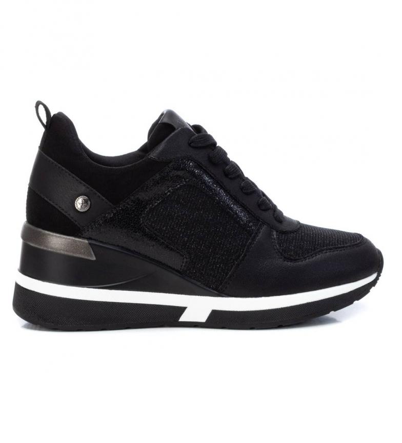 Xti Zapatillas 043242 negro -Altura cuña: 7cm-