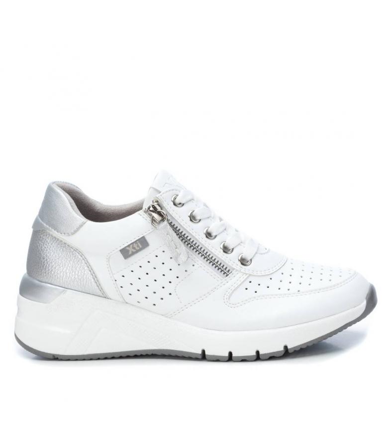 Comprar Xti Chinelos 44090 branco - altura da cunha: 5cm