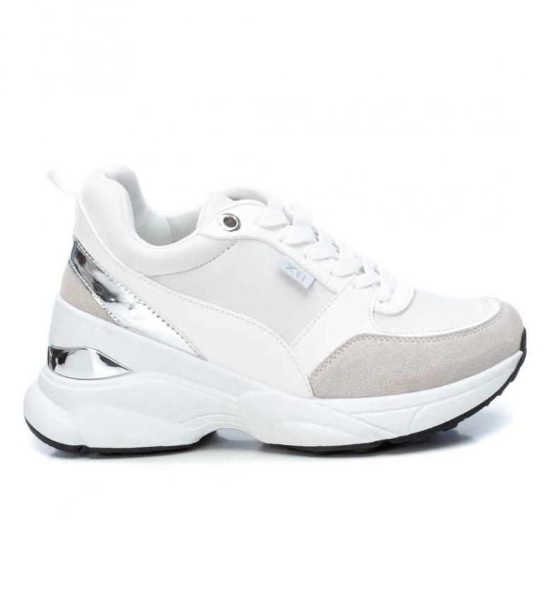 Comprar Xti Chaussures 044375 blanches - Hauteur de la cale : 6 cm