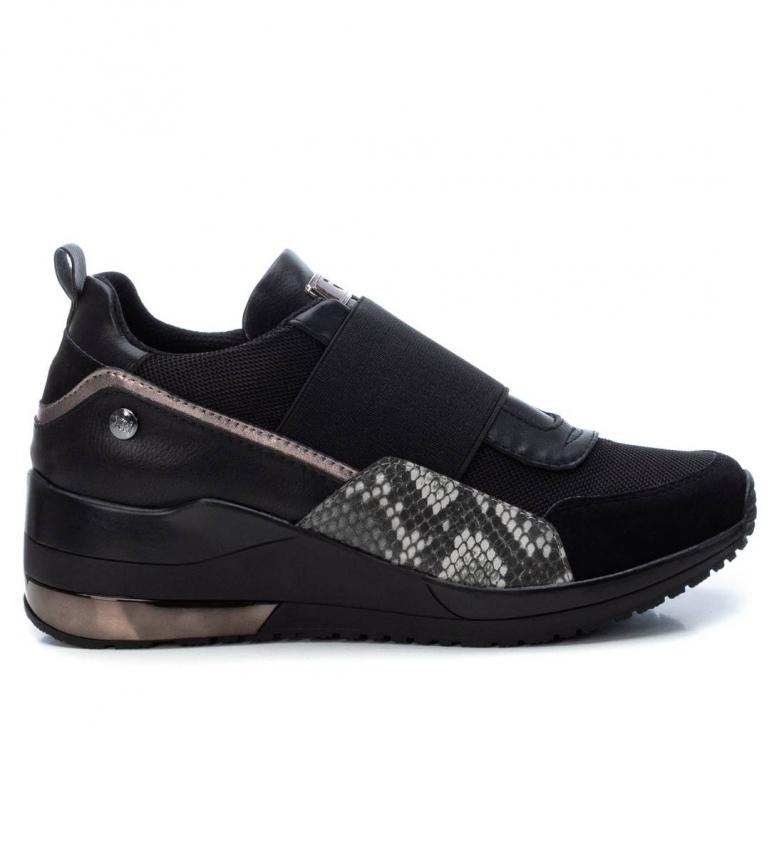 Comprar Xti Zapatillas 044527 negro -Altura cuña: 4 cm-