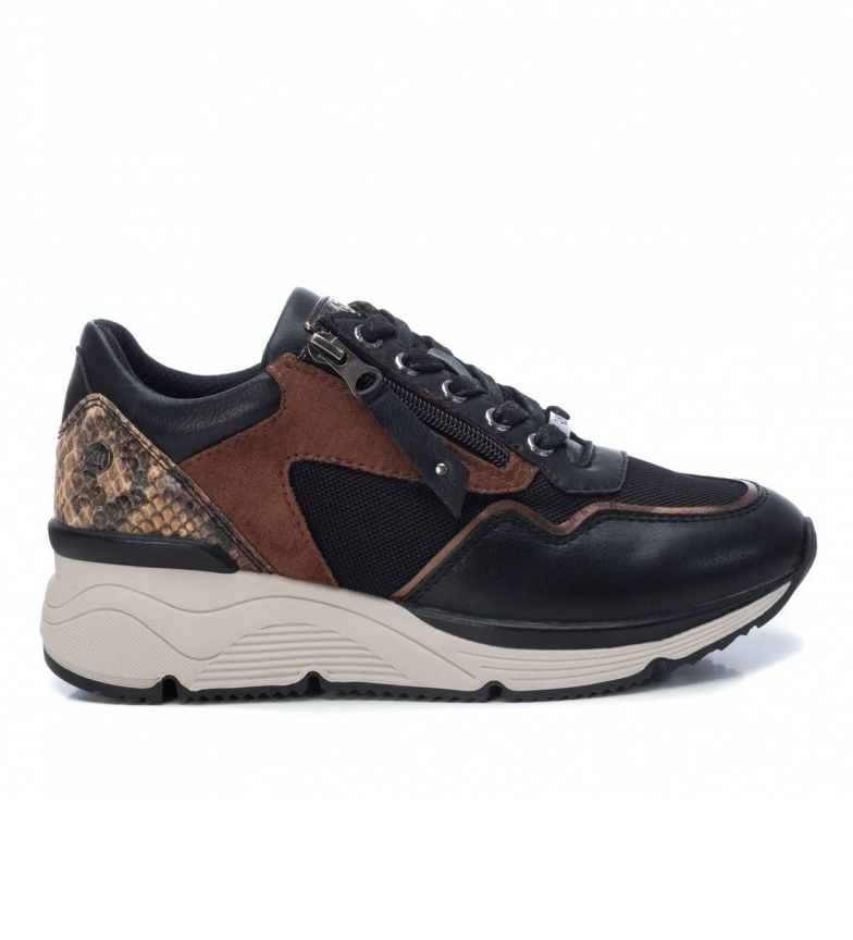 Comprar Xti Slippers 044540 bronze - Wedge height: 4 cm