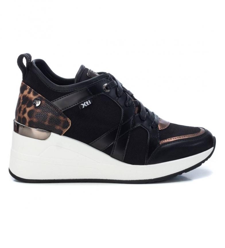 Comprar Xti Pantofole 044567 nero - altezza cuneo: 7 cm