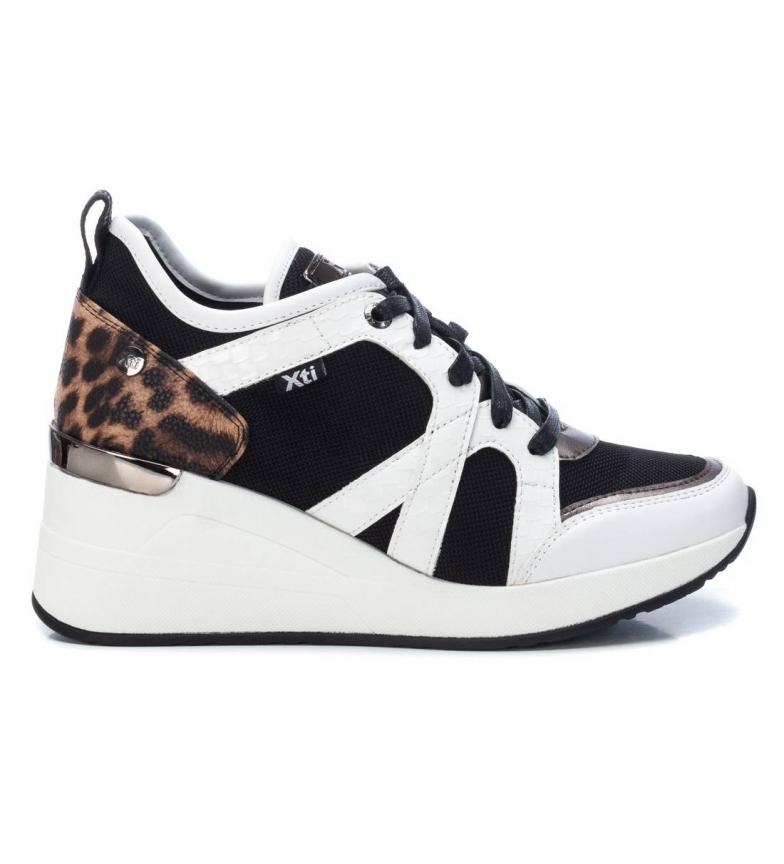 Comprar Xti Sapatos 044567 branco - Altura da cunha: 7 cm