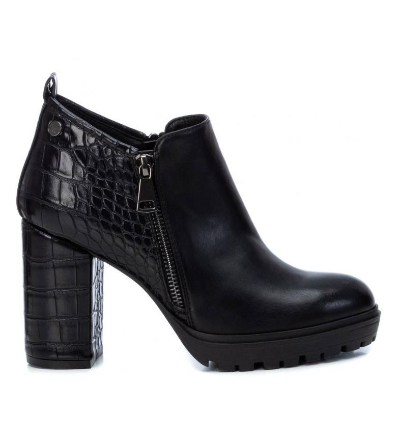 Xti Chaussures 044630 noir - hauteur du talon : 9 cm