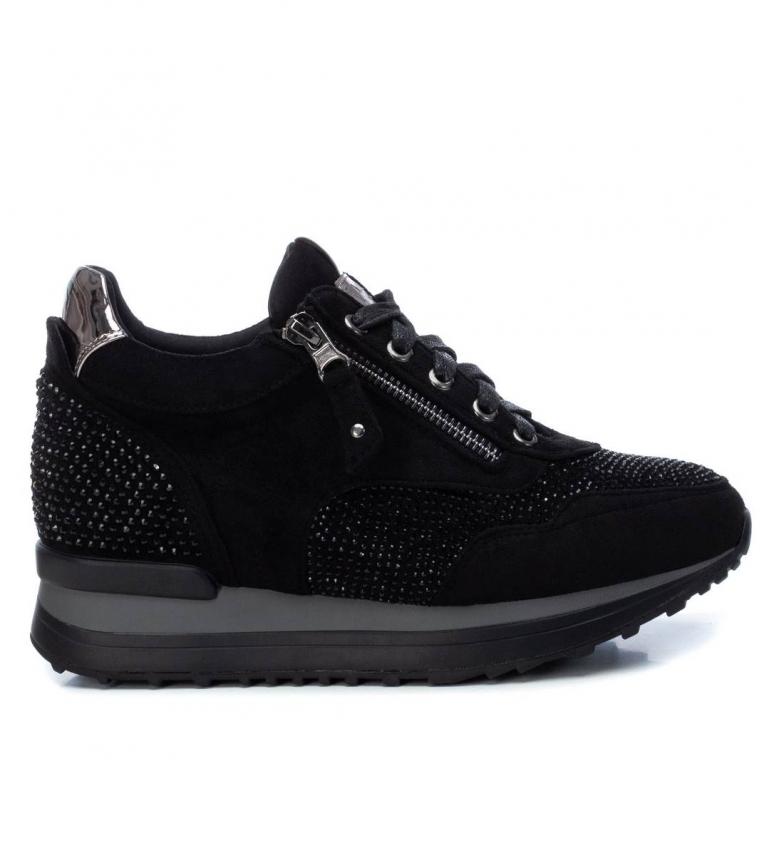 Comprar Xti Sapatos 044659 preto - Altura da cunha: 6 cm