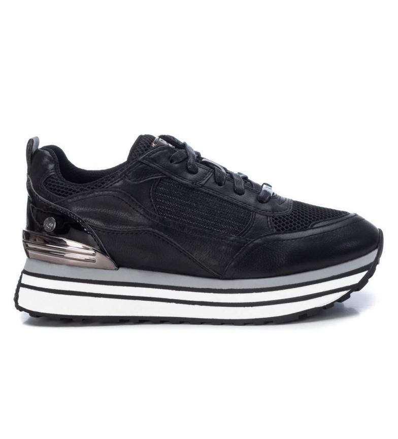 Comprar Xti Shoes 044683 black -Platform height: 4 cm
