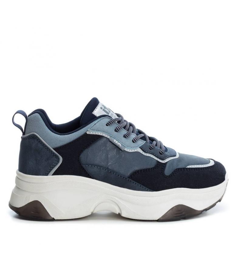 Comprar Xti 049277 scarpe blu scuro-Altezza piattaforma: 5cm-