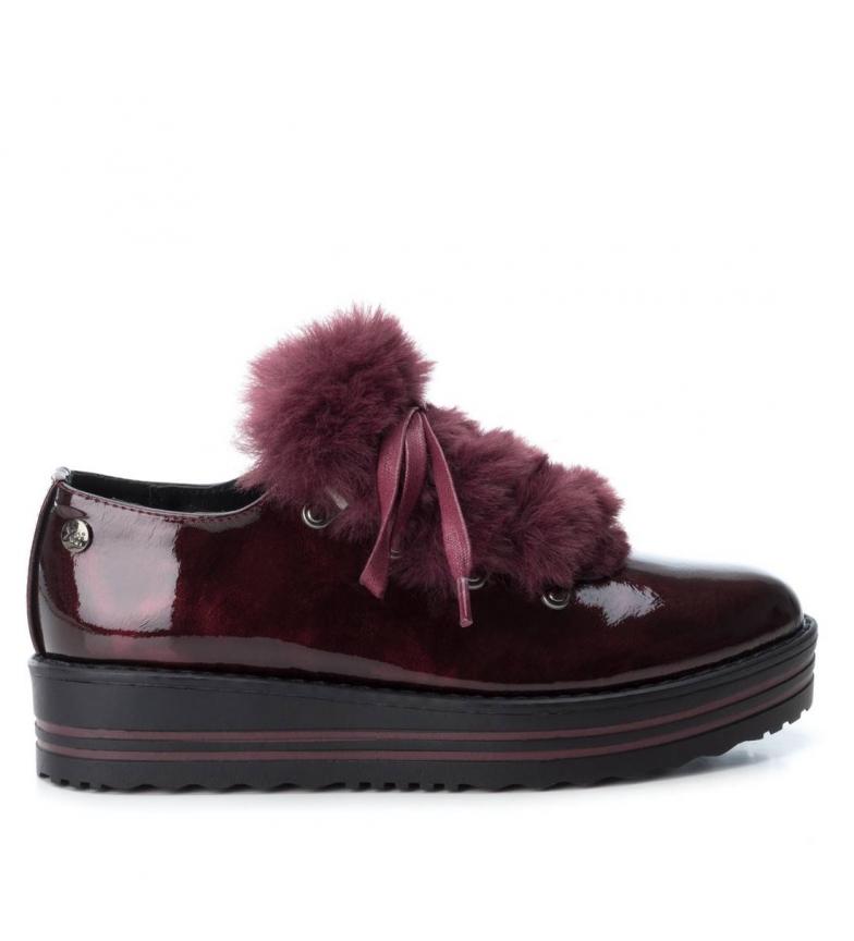 Comprar Xti Zapato cuña 049393 burdeos -Altura cuña: 4 cm-
