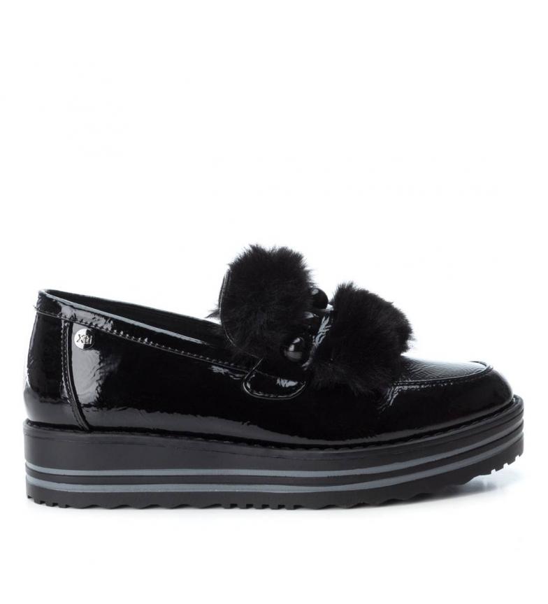Comprar Xti Zapato cuña 049395 negro -Altura cuña: 4 cm-