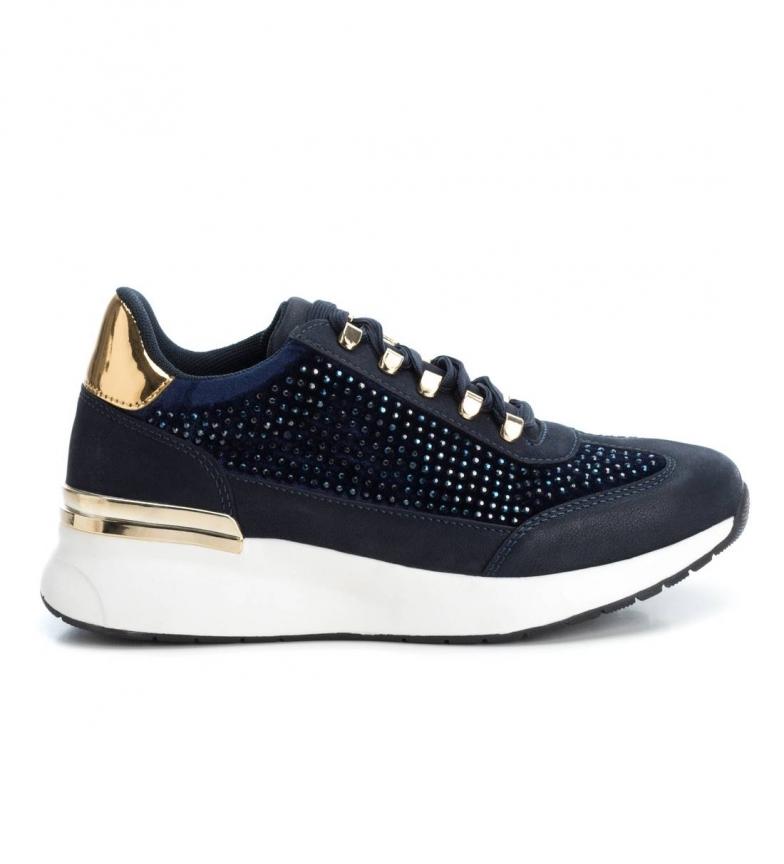 Comprar Xti Wedge shoe 049506 navy - wedge height: 4 cm
