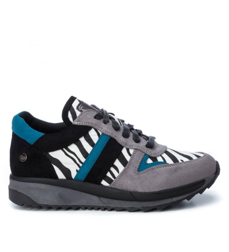 Comprar Xti Chaussure à coins 049590 zèbre - Hauteur des coins : 3 cm