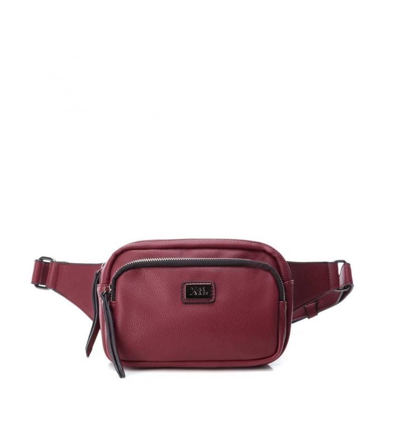 Comprar Xti Bum bag 075856 burgundy -7x18x15cm